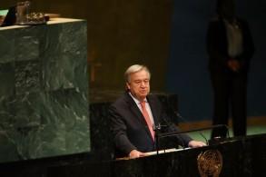 الأمين العام للأمم المتحدة انطونيو غوتيريش