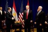 ترمب والسيسي يتبادلان المديح والغزل السياسي عبر تويتر