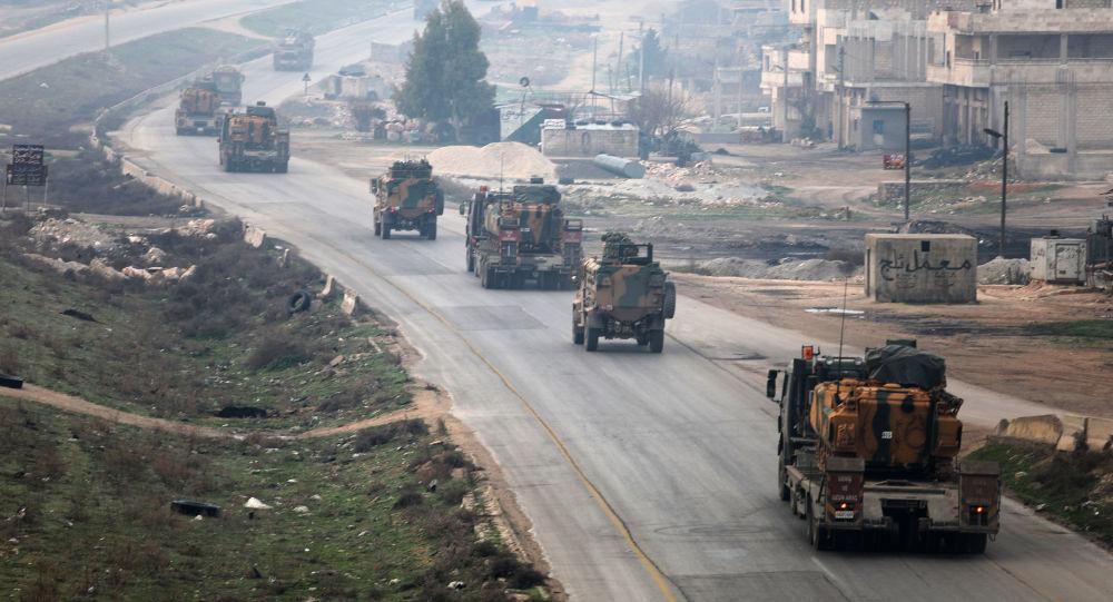 مدرعات تركية في إدلب