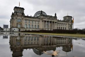 مبنى البرلمان الألماني في برلين خلال جلسة القسم للحكومة الجديدة
