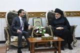 الصدر يؤكد للحلبوسي اصراره على رئيس حكومة مستقل