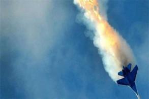 الطائرة الروسية لحظة استهدافها