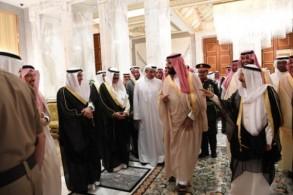 أمير الكويت يقيم مأدبة عشاء على شرف الأمير محمد بن سلمان (كونا)