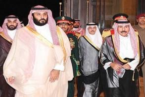 الأمير محمد بن سلمان خلال زيارته إلى الكويت