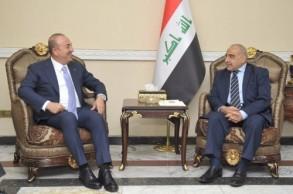 عبد المهدي مع أوغلو