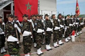 عناصر من الجيش المغربي