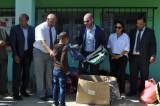 شركة اماراتية تستثمر بالمغرب تقدم هبة لمؤسسة تعليمية في أفران