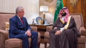 ولي العهد السعودي يلتقي المبعوث الخاص لبوتين في شؤون الأزمة السورية