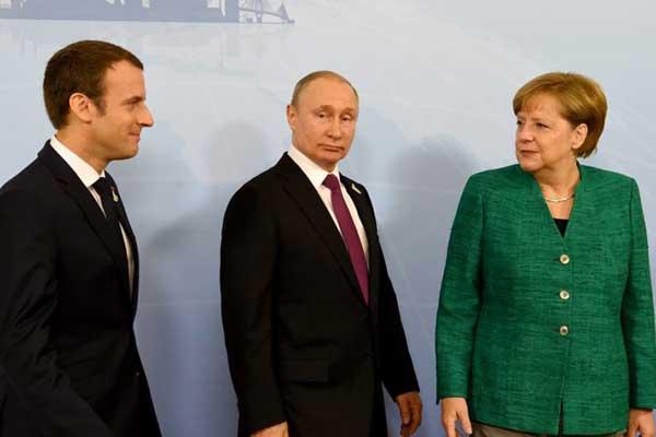 ميركل، بوتين وماكرون من اركان القمة الرباعية المقبلة