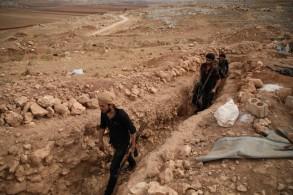 مسلحون في إدلب