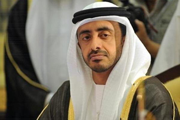 وزير الخارجية الإماراتي الشيخ عبدالله بن زايد آل نهيان