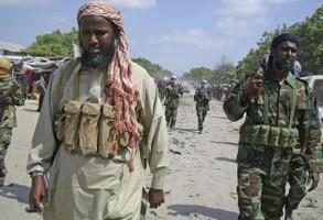 عناصر من حركة الشباب الصومالية