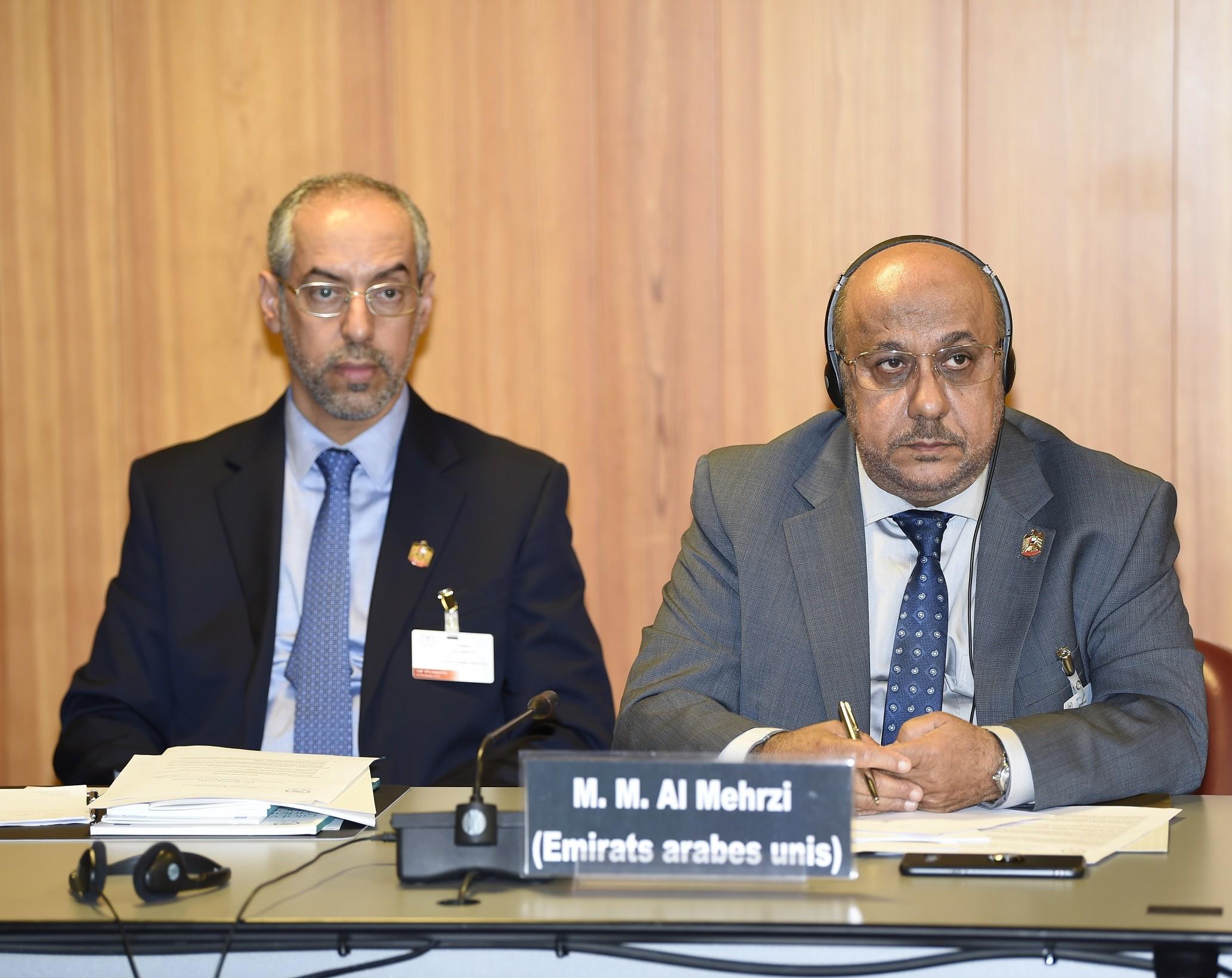 محمد عبدالله المحرزي عضو المجلس الوطني الاتحادي الاماراتي