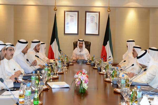 جانب من اجتماع لمجلس الوزراء الكويتي (أرشيف)