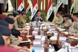 عبد المهدي للقادة الأمنيين: لا لقمع الجيش للشعب وانما لحمايته