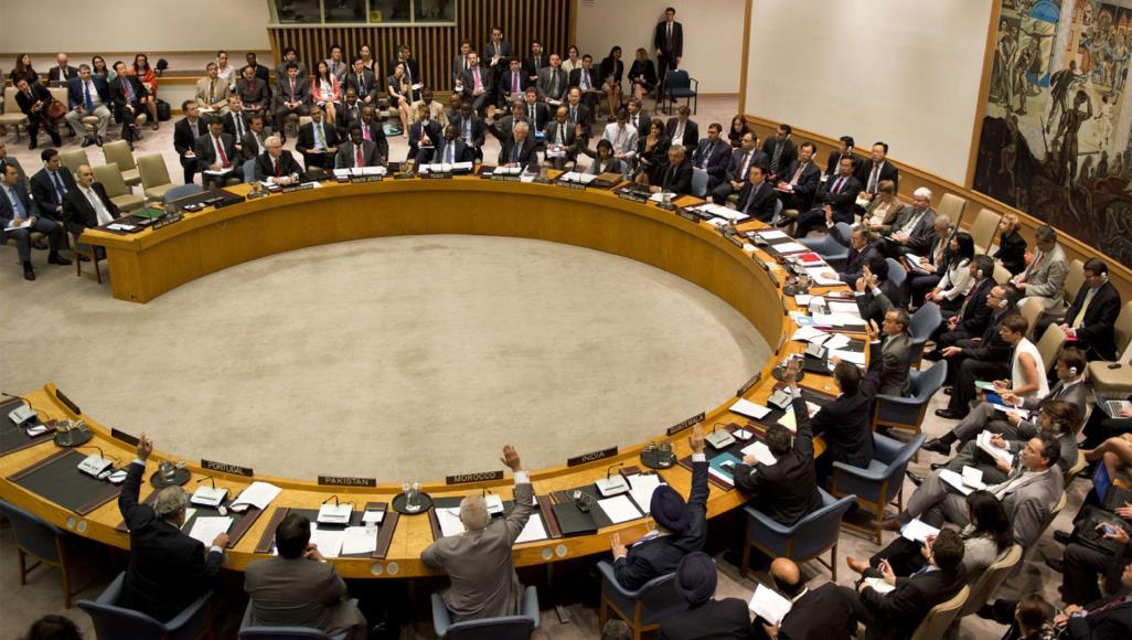 من جلسات مجلس الأمن