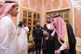 العاهل السعودي يستقبل أفرادًا من عائلة خاشقجي