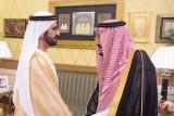 محمد بن راشد يلتقي العاهل السعودي في الرياض