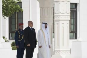 ولي عهد أبو ظبي يلتقي رئيس الوزراء البلغاري