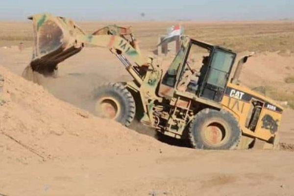 عمليات تحصين وتدعيم الحدود العراقية مع سوريا