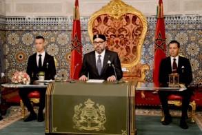 العاهل المغربي يلقي خطابًا بمناسبة الذكرى الثالثة والأربعين للمسيرة الخضراء