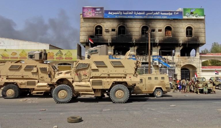 القوات الموالية للحكومة تواصل تقدمها في أحياء الحديدة