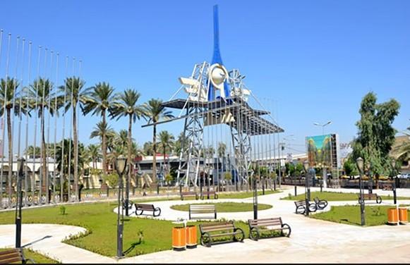 واجهة معرض بغداد الدولي