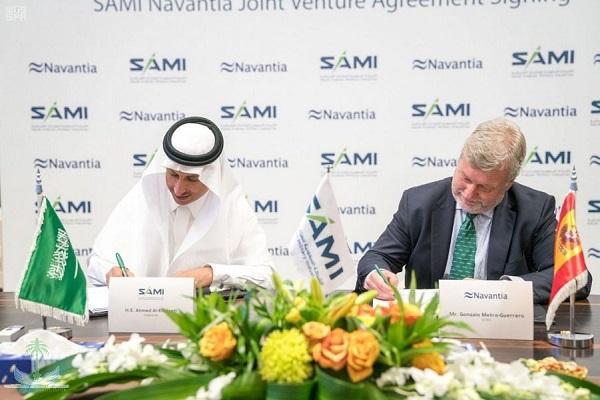 خلال التوقيع على المشروع المشترك بين السعودية وإسبانيا