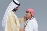 محمد بن راشد يكرم أوائل الإمارات بشكل مختلف