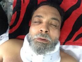 قنديل في المستشفى بعد خطفه المزعوم
