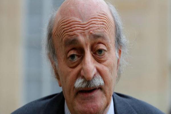الزعيم اللبناني وليد جنبلاط