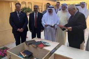 العراق يسلم الكويت جزءا من أرشيفها المنهوب