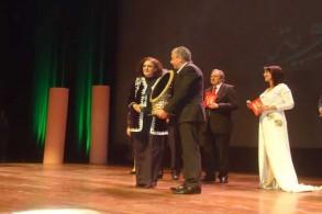 خلال تكريم الممثلة المغربية راوية