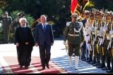 الرئيس العراقي يصل إلى طهران لبحث العقوبات والتعاون التجاري