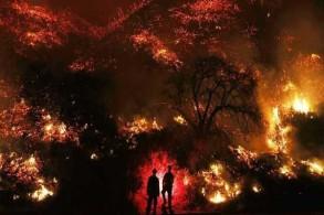 حرائق كاليفورنيا لا تزال مستمرة