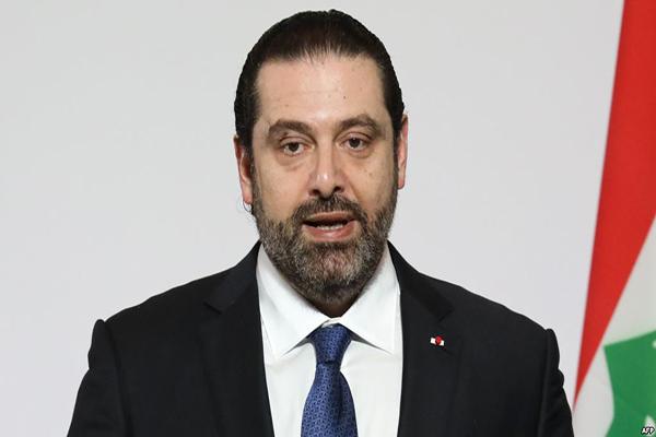 الرئيس المكلف تشكيل الحكومة اللبنانية سعد الحريري