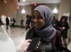 الكونغرس قد يجبر نائبة من أصل صومالي على خلع حجابها