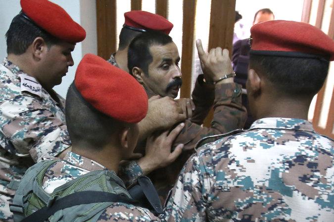الجندي التوايهة بعد صدور الحكم لتورطه بقتل الجنود الاميركيين