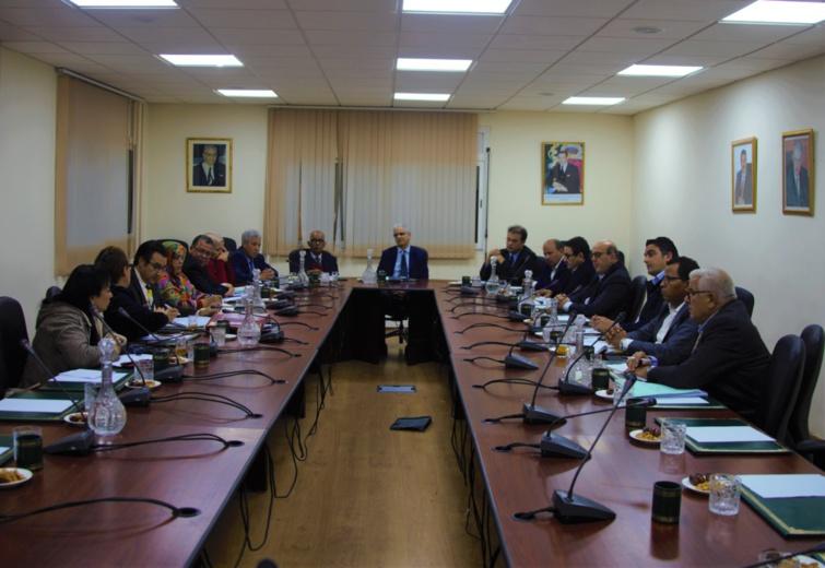 الاجتماع الاسبوعي لقيادة حزب الاستقلال المغربي