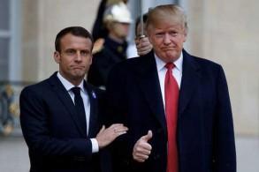 الرئيسان الأميركي والفرنسي - أرشيفية