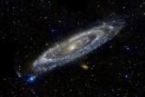 اكتشاف مجرة غامضة تختفي وراء درب التبانة