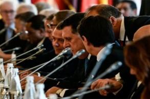 جانب من مؤتمر باليرمو حول ليبيا