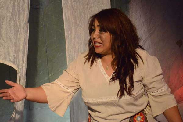 لقطة من المسرحية