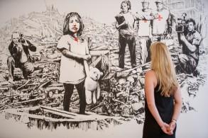معرض مخصص لفنان الشارع بانكسي في ميلانو