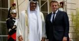 محمد بن زايد يلتقي الرئيس الفرنسي غداً في باريس
