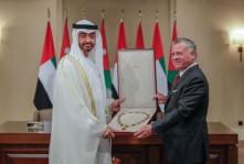 حظوة غير مسبوقة لمحمد بن زايد في الأردن