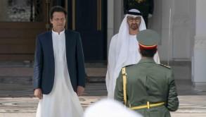 ولي عهد أبوظبي يتباحث مع رئيس وزراء باكستان