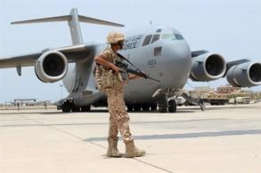 طائرة مساعدات من التحالف العربي للمحتاجين في اليمن
