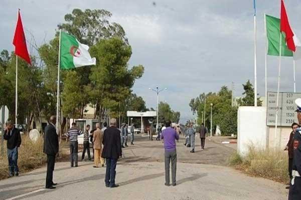 الحدود المغربية - الجزائرية التي يطالب المغرب منذ سنوات بفتحها (صورة من الأرشيف)