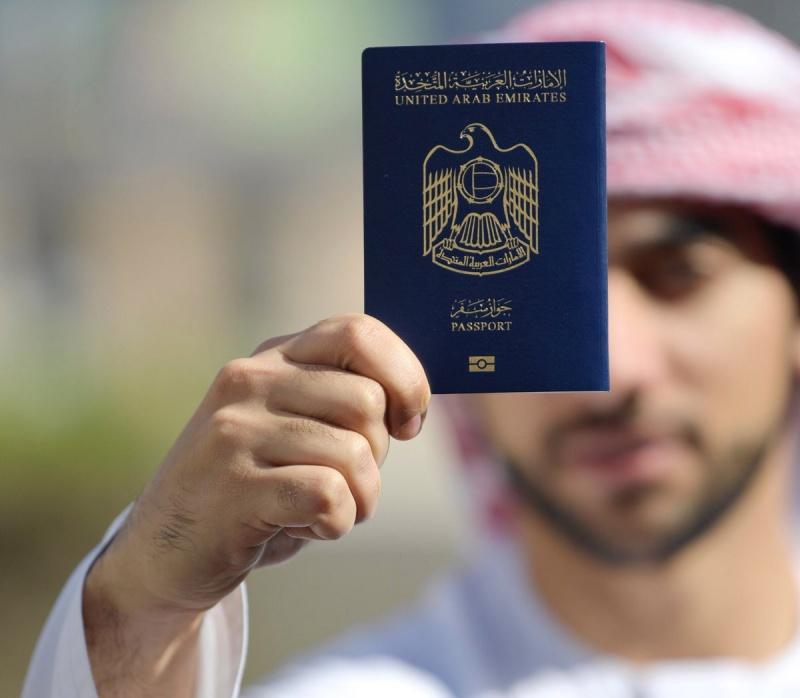 جواز السفر الإماراتي الأول عالميًا
